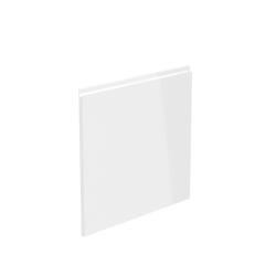 Dvierka na umývačku riadu, biela extra vysoký lesk HG, 44,6x57, AURORA