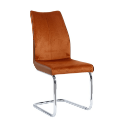 Jedálenská stolička, tehlová/tehlová, FARULA