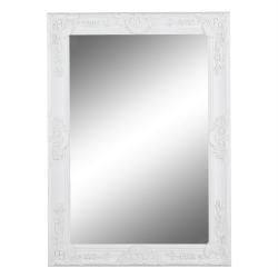 Zrkadlo, biely rám, MALKIA TYP 9, poškodený tovar